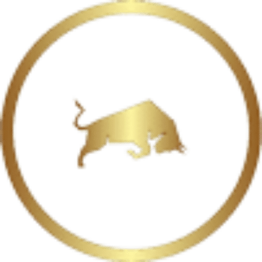 bull in circle. Broadway Law Firm logo