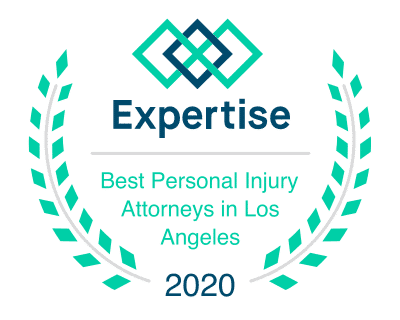 Expertise.com Logo Best Personal Injury Attorney in Los Angeles 2020
