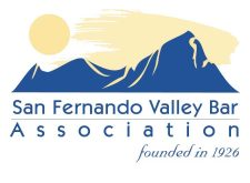 San Fernando Valley Bar Association logo. Founded in 1926
